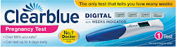 Clearblue Digital Pregnancy Test - with Weeks Indicator, 1 Test