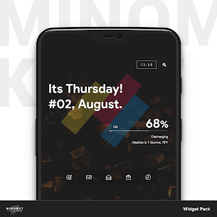 Minomet KWGT 1.2.5 Mod Android Updated 3