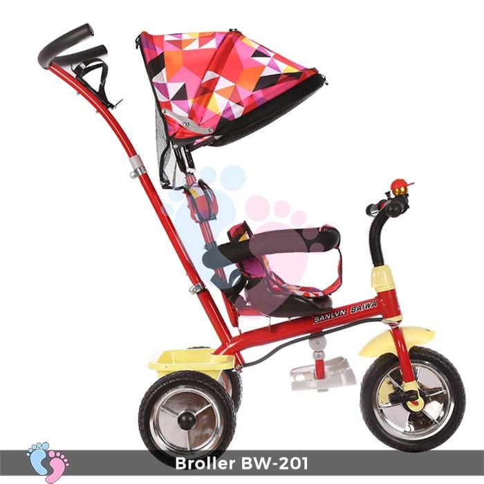 Xe đạp đẩy 3 bánh Broller XD3-201 5