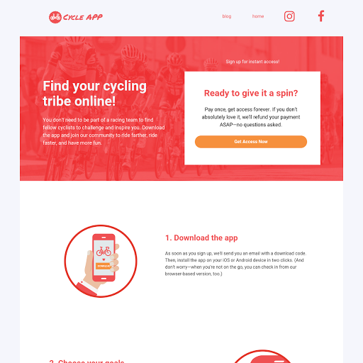 Product landing page templates from leadpages how it works checkout page preview template pronofoot35fo Image collections