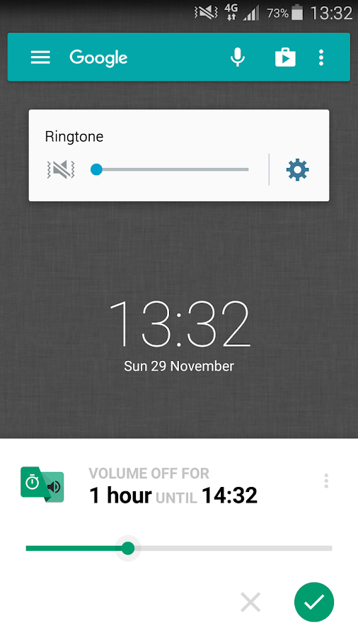 Volume Timer- screenshot
