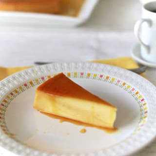 Flan de Queso (Cheese Flan).