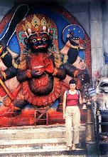 Photo: Katmandu - Durbar Square, świątynia Sziwy / The temple of Shiva