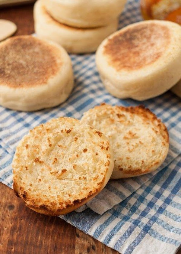 Sourdough English Muffins Recipe