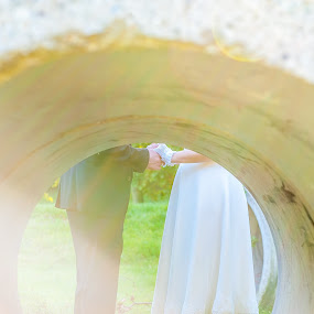 Holding Hands  by Mario Pakasi - Wedding Bride & Groom ( wedding creating pixels mario pakasi )