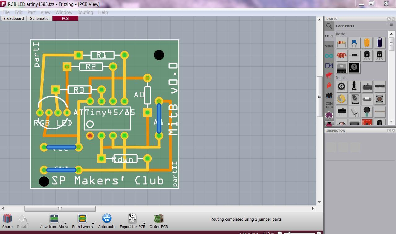 shinajaran: Design and fabricate a Printed Circuit Board (PCB) with ...