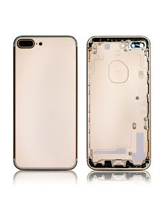 iPhone 7 Plus Back Housing without logo High Quality Gold
