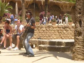 """Photo: Parc Guëll, classé """"Bien culturel du patrimoine mondial"""" par l'Unesco"""