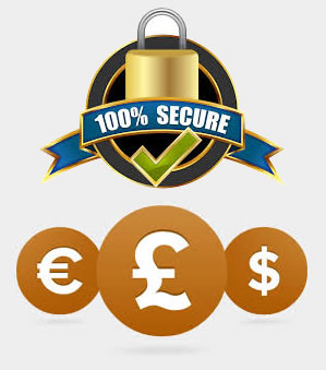 Secure Payments - Any Currency
