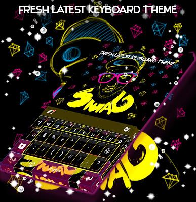Fresh Latest Keyboard Theme - screenshot