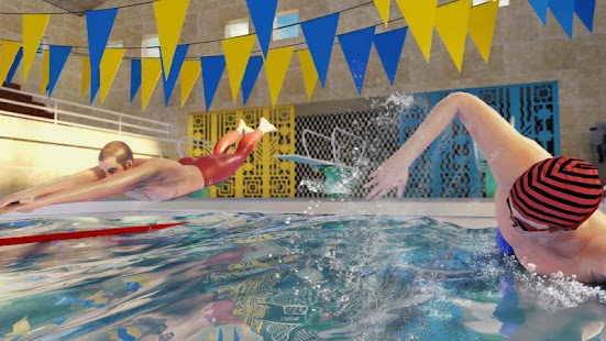 US Swimming Pool Race: Summer Sports Water Games Screenshot