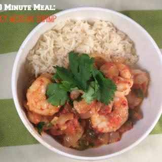Spicy Mexican Shrimp.