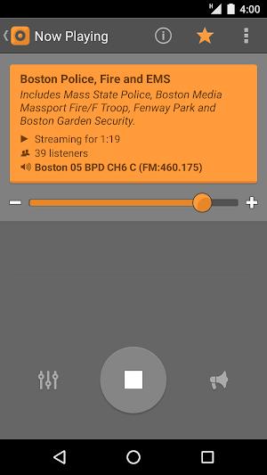 2 Scanner Radio App screenshot
