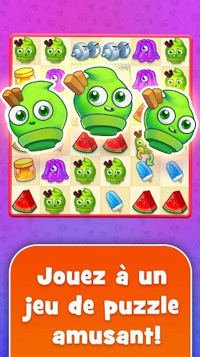 Sugar Heroes - combinar-3 mondial jeu!  captures d'écran 1