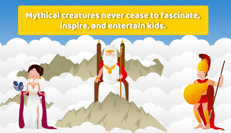 greek mythology for kids gods in olympus