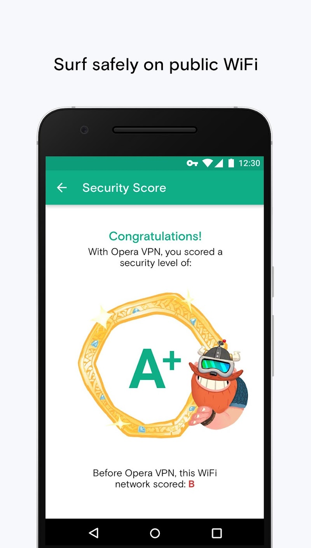 Opera Free VPN - Unlimited VPN Screenshot 3