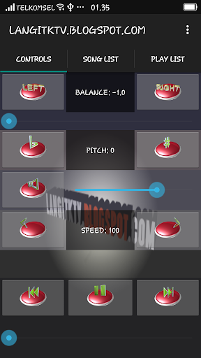 LangitKTV Karaoke Remote