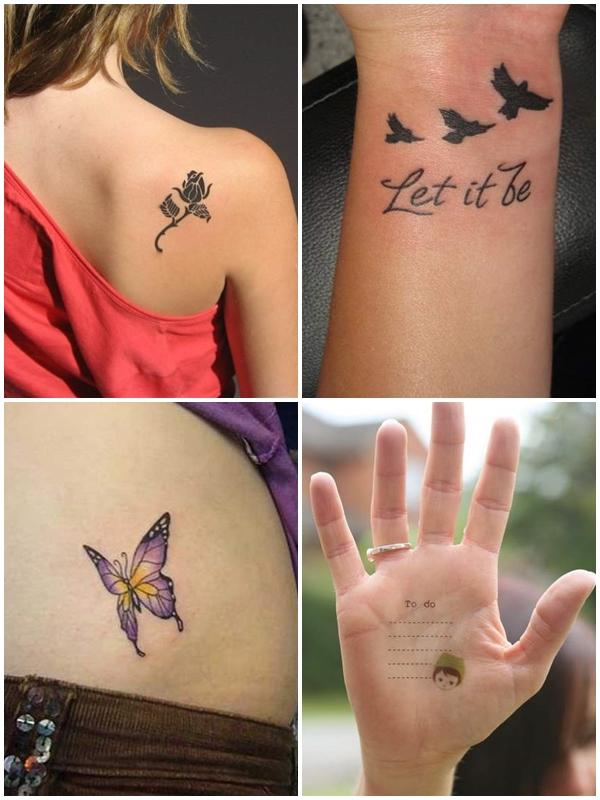 tattoos vriend klein