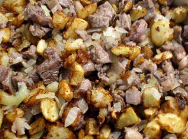 Left Over Roast Beef Hash Recipe