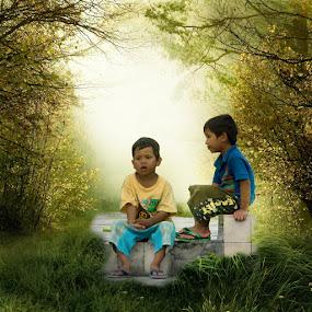 by Hasan Basri - Babies & Children Children Candids