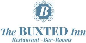 The Buxted Inn Logo with writing underneath