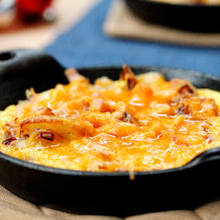 Potato Egg and Cheese Scramble