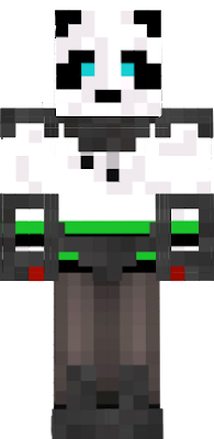 A Panda in a EdgeOfTomorrow Armor