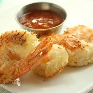 Gluten Free Coconut Shrimp.