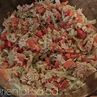 Oriental Salad with Ramen Noodles Recipe