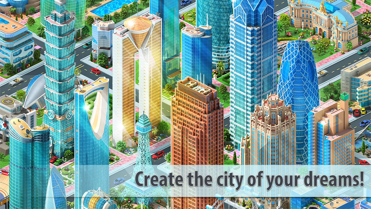 Megapolis city building game for iOS device 2018