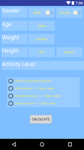 TDEE Calculator - náhled