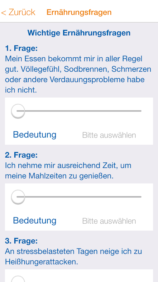 Schlank Sein- screenshot