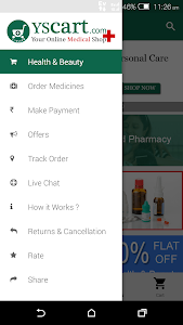YScart -Trusted Pharmacy India screenshot 1