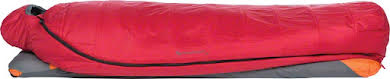 Big Agnes Encampment 15F Sleeping Bag: Synthetic, Red/Gray, Regular alternate image 0