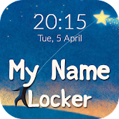 Name Pattern Lock Screen