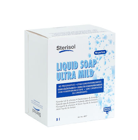 Tvål/schampo Sterisol oparf 5l