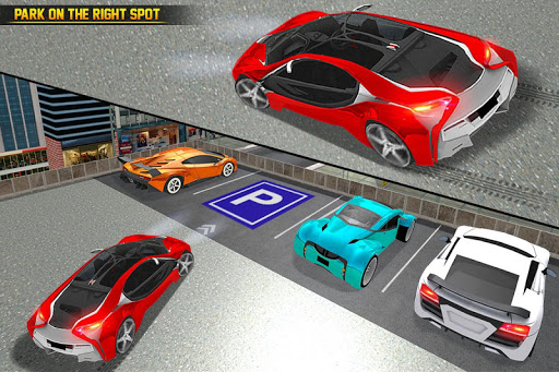 US Futuristic Car Parking: Free Parking Games  screenshots 4