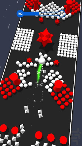 Code Triche Color Crush 3D - Jeu d'arcade amusant APK MOD screenshots 3
