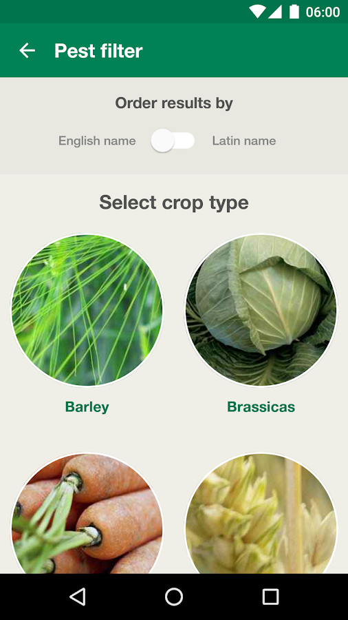 Agronomy Tool- screenshot