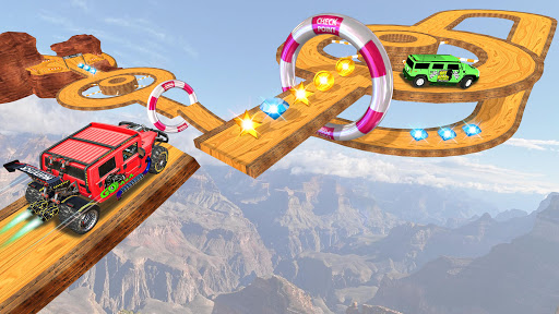 Offroad Jeep Driving Stunt 3D : Real Jeep Games  screenshots 9