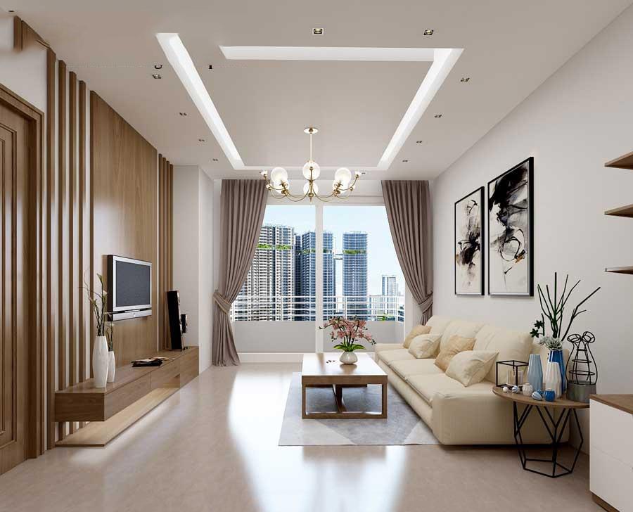 Tạo những điểm nhấn đặc sắc khác nhau trong không gian phòng khách