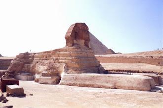 Photo: #012-Le sphinx à Guizeh
