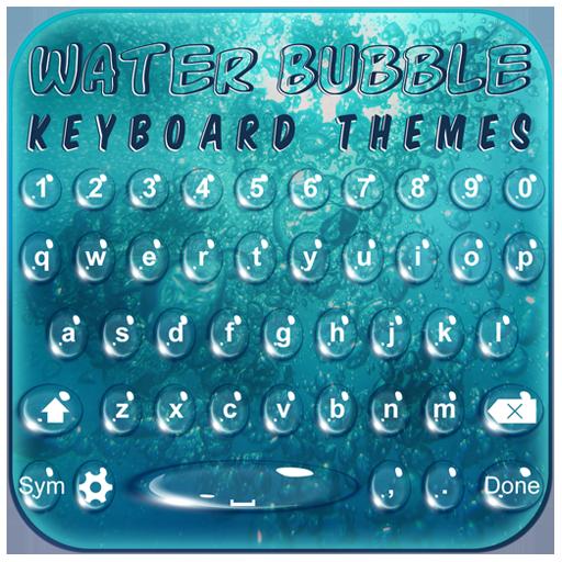 Water Bubble Keyboard Themes