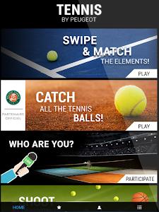 Tennis by Peugeot screenshot 8
