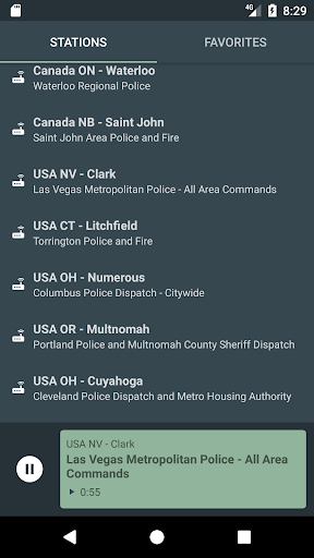 USA POLICE 🚨 RADIO SCANNER PRO screenshot