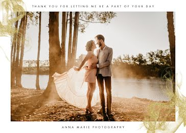 Anna Marie Photography - Thank You Card Template