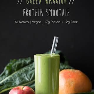 Green Warrior Protein Smoothie.