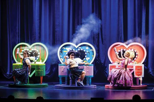 "symphony-of-the-seas-Hairspray-1.jpg - A scene from the Broadway musical ""Hairspray"" on Symphony of the Seas."