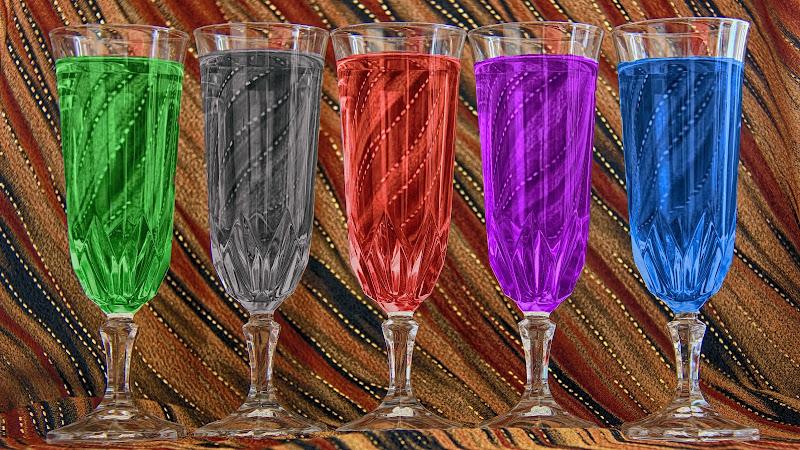 Bevande colorate di marvig51