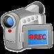 完全無音ビデオカメラ 4K高画質まで対応 動画・写真撮影・編集・標準カメラ消音このアプリで完結